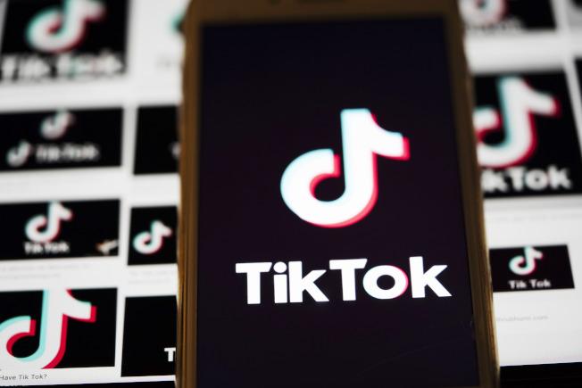 擁有「抖音」海外版TikTok社群媒體平台的北京「字節跳動」,要控告川普政府。(新華社)