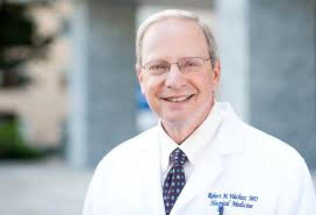 舊金山加大醫學系主任瓦治特(Dr. Bob Wachter)說,舊金山在全美20個最大都會區之中,防疫表現出色,確診病例第三低,死亡則是第一低。(Getty Images)