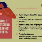 看暴力視頻讓人痛苦?柏加大3女生創網站教減壓