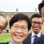 香港特首林鄭的3個男人 都擁英國籍、精通數學