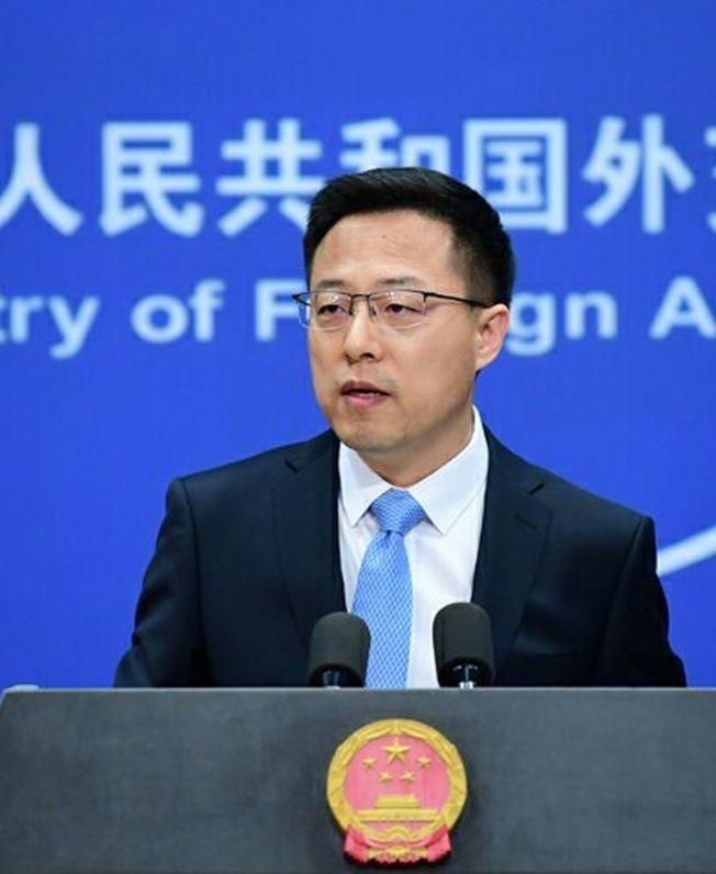 中國外交部發言人趙立堅。(取材自微博)