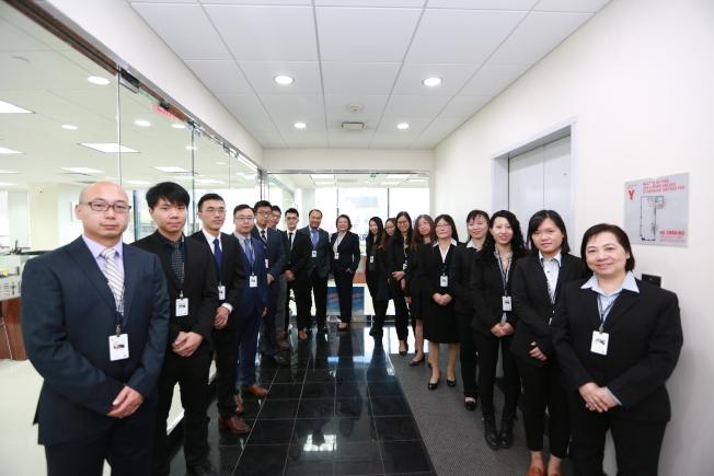 陳秀冰註冊會計師事務全體員工合照。