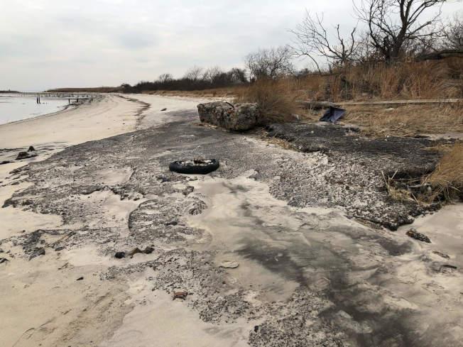 死馬灣因發現放射性物質被關閉。(國家公園管理局提供)