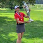 張斯洋 成業餘女子高球賽首位華裔冠軍