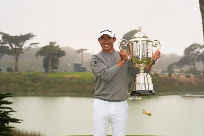 日裔美籍球員科林森川 抱回PGA冠軍