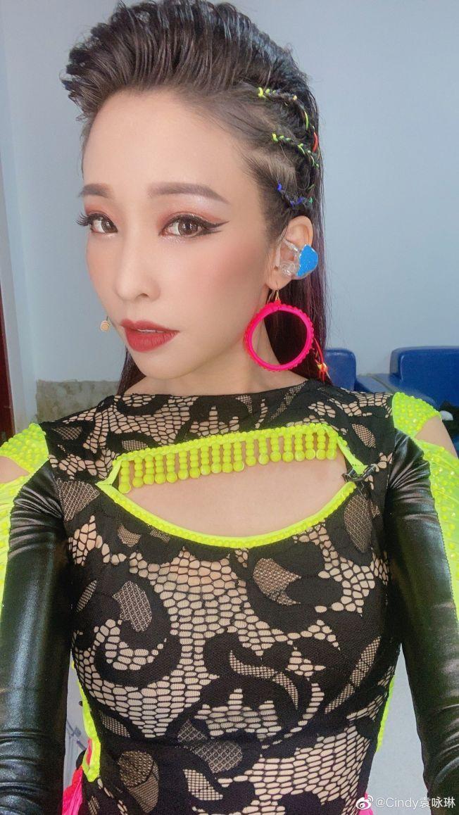 袁詠琳因參加「乘風破浪的姐姐」,知名度水漲船高。(取材自微博)