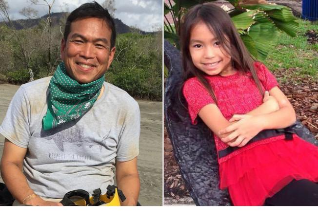 肯比安‧黃與女兒安吉拉‧黃。(取自臉書)