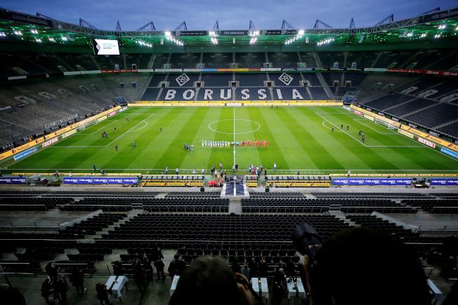 10月底前德甲賽事仍然禁止球迷進場。(路透)