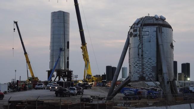 波卡戚卡是德州最小的城鎮之一,現在到處都是太空船。(SpaceX Boca Chica臉書)