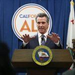 紐森辯護加州經濟復甦方案