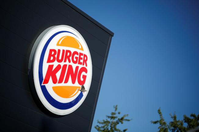漢堡王商標示意圖。路透