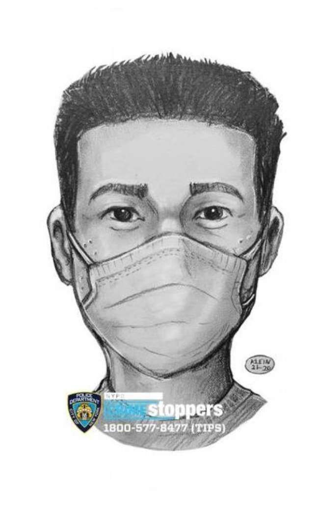 該男子涉嫌在法拉盛企圖強姦。(警方提供)