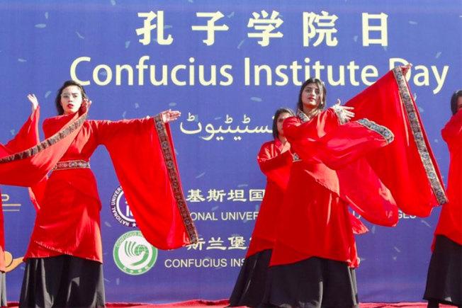 美國國務院13日發布,將孔子學院指定為中國駐外使團。新華社