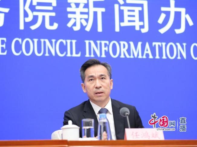 中國商務部部長助理任鴻斌。取自中國網
