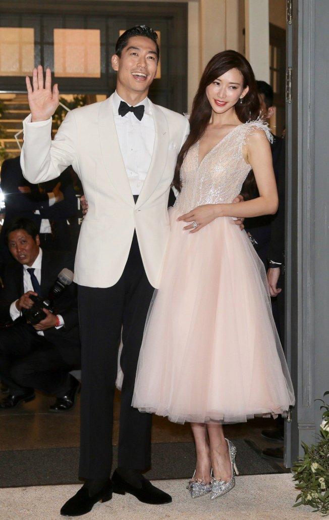 林志玲、AKIRA婚後生活幸福。 圖/聯合報系資料照