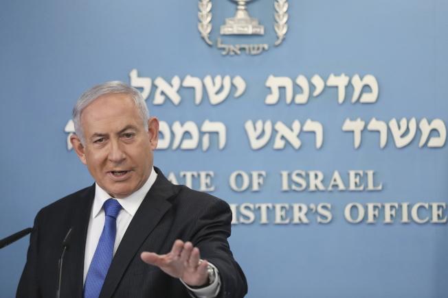 以色列與阿聯達成「兩國關係正常化」歷史性協議。圖為以色列總理內唐亞胡。(歐新社)