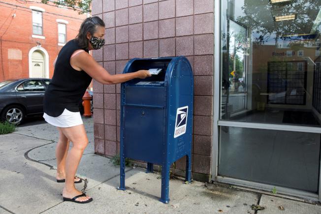 美國郵寄投票成為熱議話題。(路透)