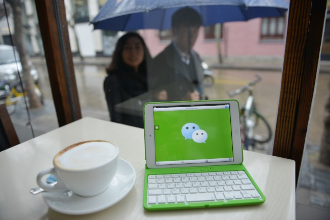 美國微信的使用者主要是美國華人、留學生及其商務人士。(Getty Images)