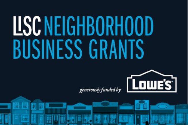 地方倡議支持公司與連鎖店Lowe's設立的「鄰里企業補助金」,申請截止日為23日(周日)晚。(取自地方倡議支持公司網站)