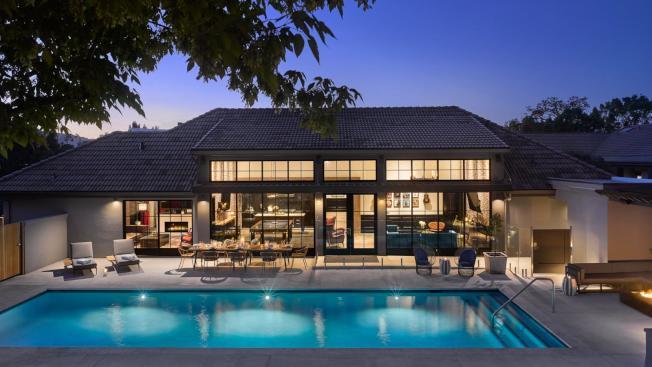 納帕谷的一處度假屋短租標價1萬元一晚。(取自Airbnb Luxe)
