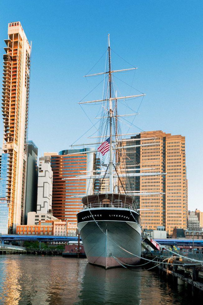 擁有135年歷史的鑄鐵帆船「Wavertree號」,將於9月開放民眾免費參觀。(南街海港博物館提供,Richard Bowditch攝影)