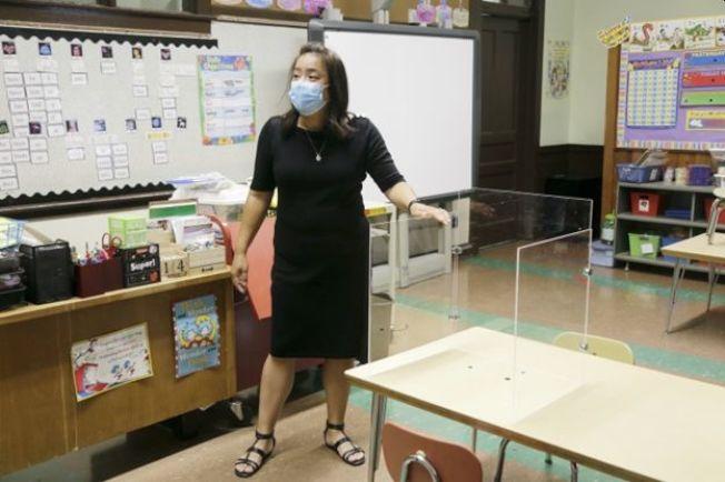 聖德力防疫課室。
