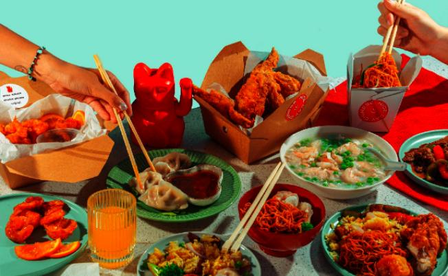 「好日子外賣店」將提供的傳統美式中餐菜式。(君子食堂提供)