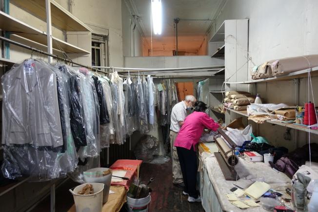 擁有61年歷史的「Sun's Laundry」29日正式關閉。(記者金春香/攝影)