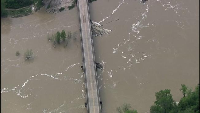 颶風哈維三年後,金伍德居民依舊抗洪。(ABC13)