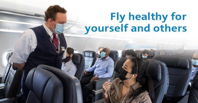 美航強制口罩措施 屢遭乘客挑釁