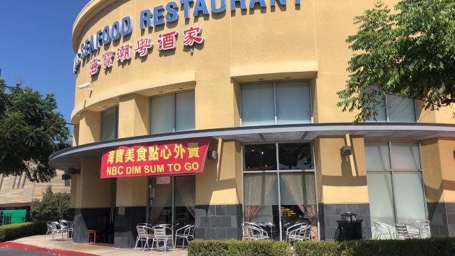 蒙市有19家餐廳設戶外用餐。(記者王若然/攝影)