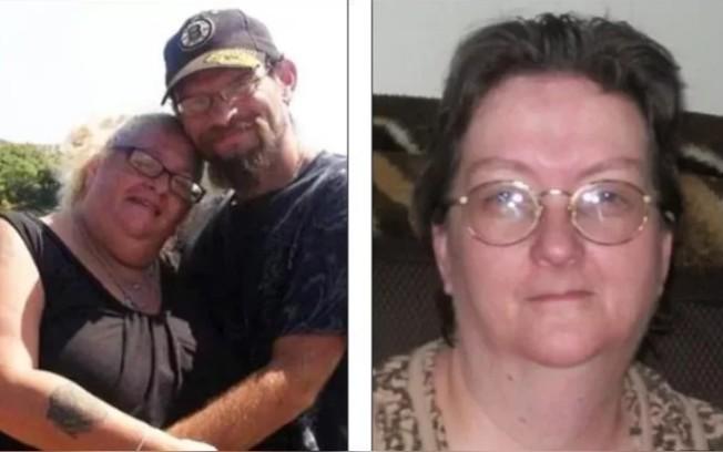 蘿莉(左一)撞見丈夫湯尼(左二)和婆婆(右)上床。圖取自每日郵報