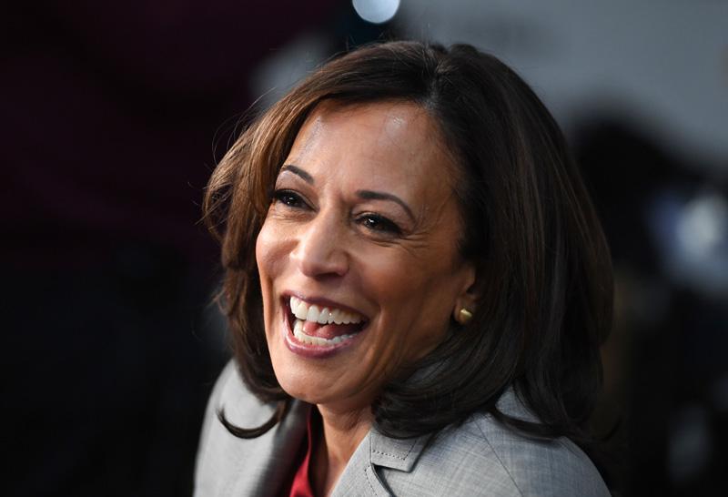加州聯邦參議員賀錦麗。Getty Images