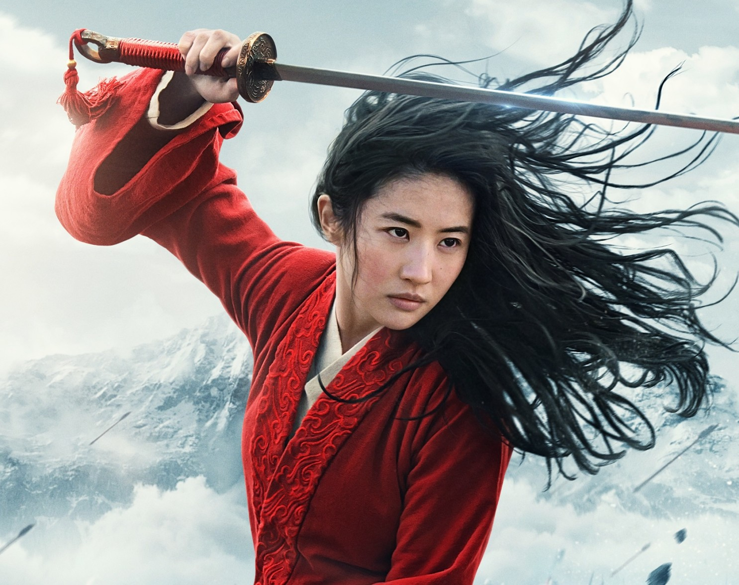 「花木蘭」真人版由劉亦菲等知名華人影星擔綱演出。迪士尼提供
