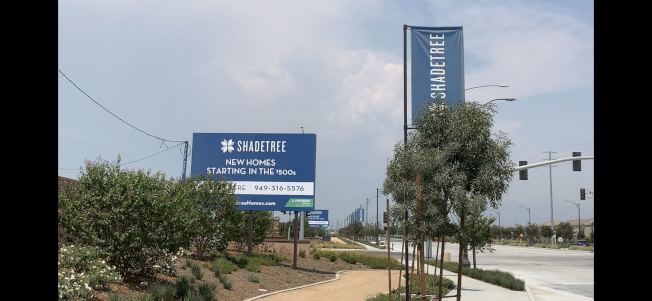 ShadeTree社區發售標誌。(記者啟鉻/攝影)