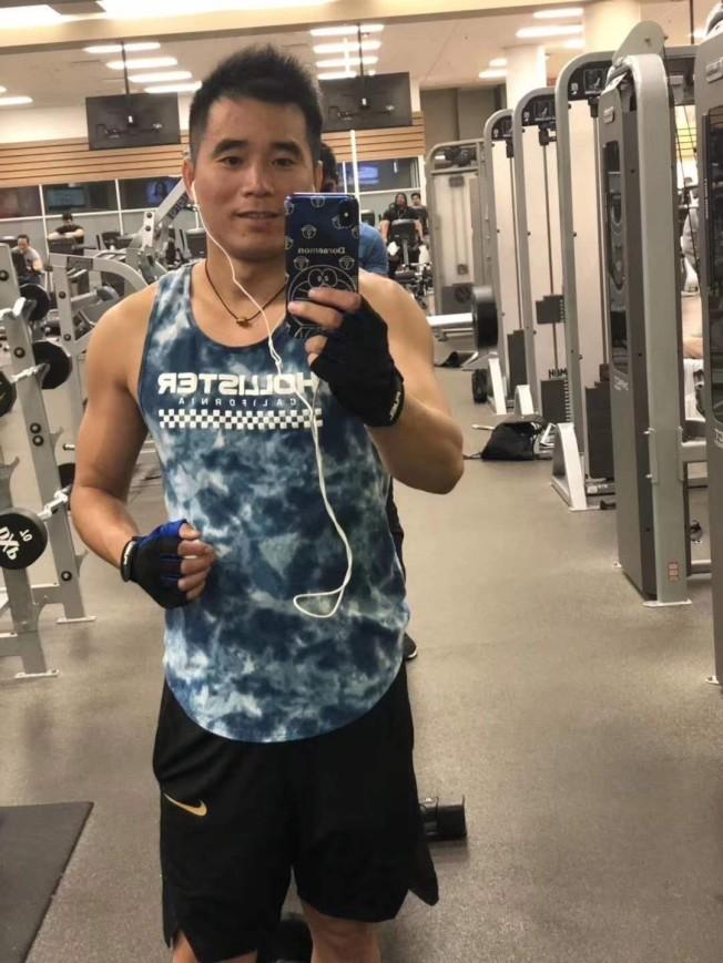 36歲的謝法釵生前喜歡健身。(劉太太提供)