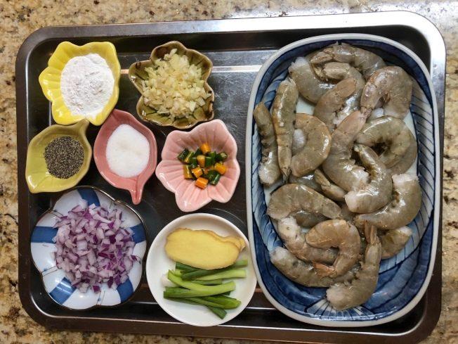 蒜蓉椒鹽蝦