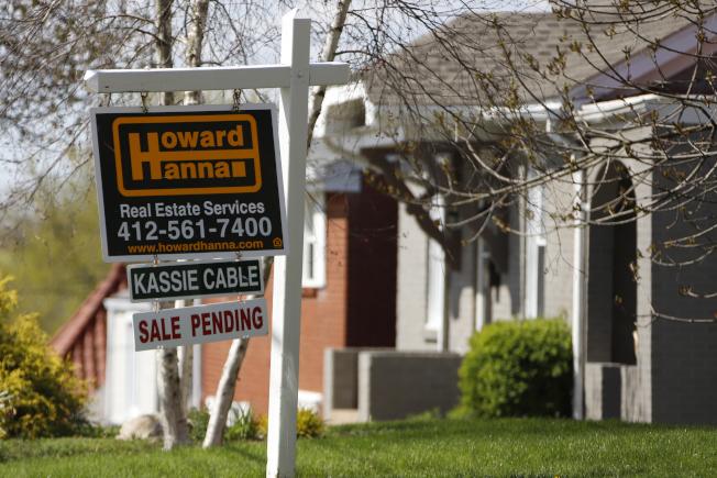 掌握全美房產市場趨勢,要看價格、成交量和市場掛牌時間三個關鍵指標。(美聯社)