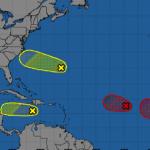 四區域存風暴可能 密切觀察