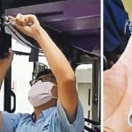 香港九龍遊行/巴士司機「無故響號」被捕 工會發起抗議