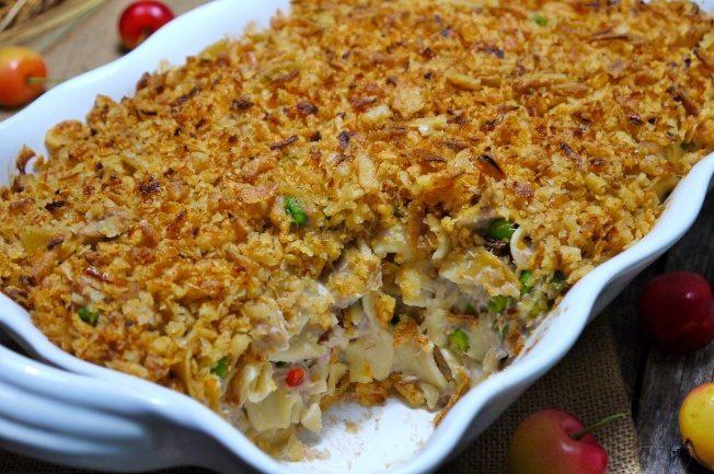 料理功夫/美國菜這樣做 鮪魚麵焙盤