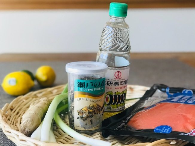 料理功夫/簡易熏鮭魚壽司飯