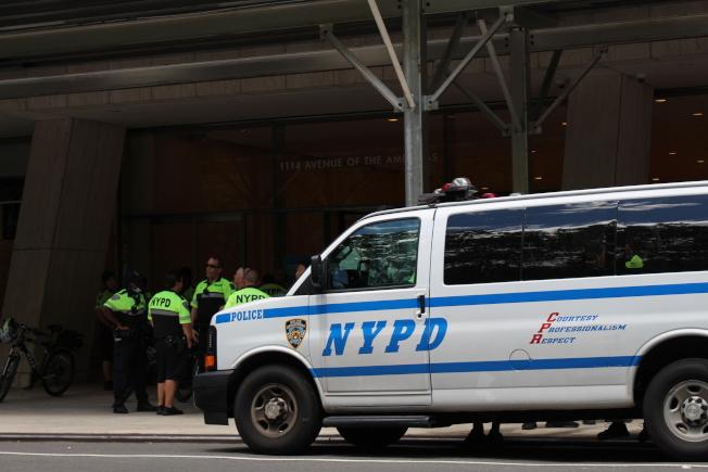 紐約市上周搶案達25年來頂峰。(記者張晨/攝影)