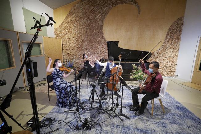 新亞年度音樂會「恆•光」線上免費舉辦。(新亞提供)