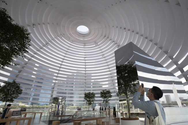 店內可一覽城市360度全景。(歐新社)