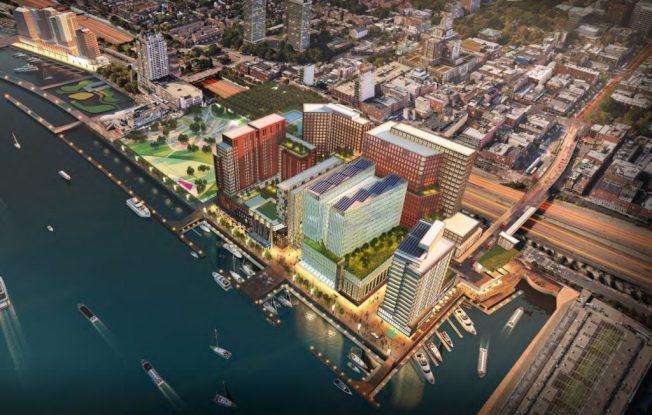 費城河濱換新貌 球場、博物館、音樂廳競逐