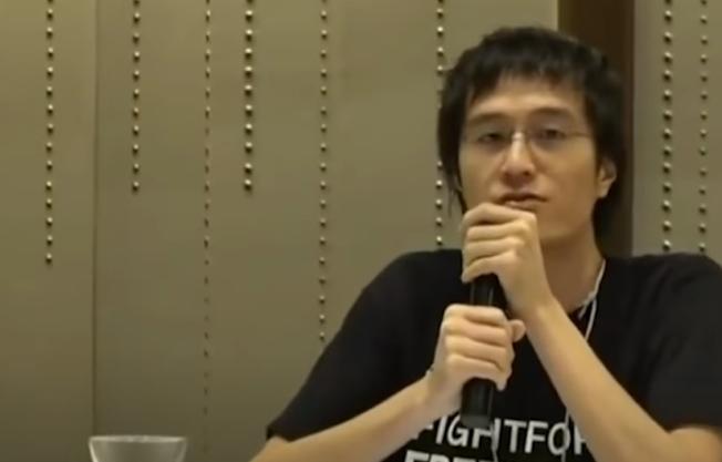 包括李宇軒在內的12名偷渡港青,林鄭月娥稱要根據內地法律及司法管轄權處理。(取材自YouTube截圖)