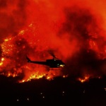 山火污染空氣 洛杉磯多地煙霧警告