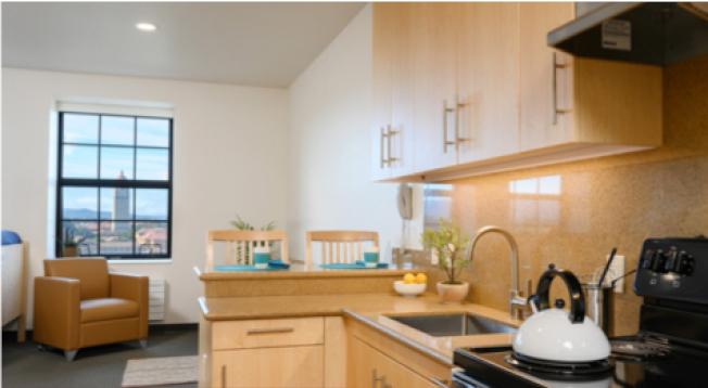 史丹福大學Escondido Village研究生住宿空間,經過了相當多的討論規畫,創造許多幸福感。(史丹福大學提供)