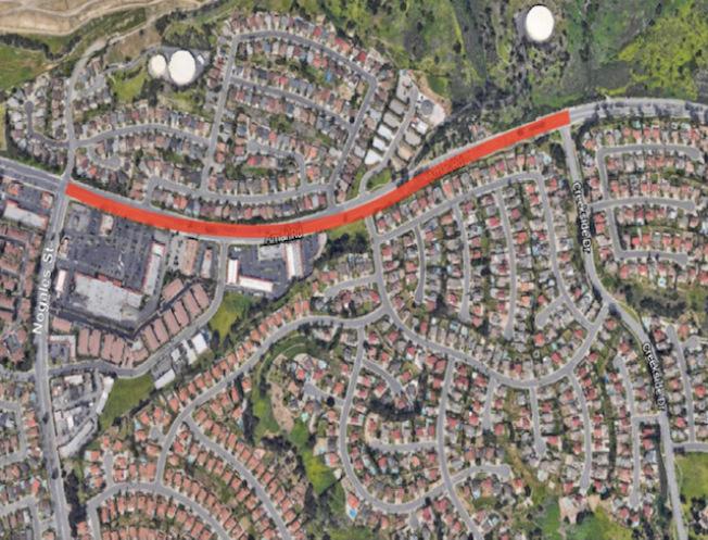 核桃市主要交通幹道之一Amar大道從即日開始全面整修,工程預計兩個半月,今年感恩節將以全新面貌迎接民眾和車流,但修整期間附近交通將會受到影響。(核桃市府提供)
